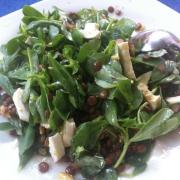 Semizotu salatası. Bu sıcakta ancak bu salata yenir !