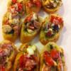 Bruscetta, ya da domatesli kanepeler