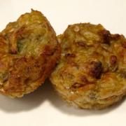 Patlıcan patlamiican... Bu da muffin patlican.     (26 kalori)