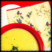 Pırasa çorbası                                                               129 kalori