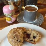 Yabanmersini soslu muffin