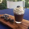 Chia'lı ve çikolatalı masum bardacık                               8 bardacık / 69 kalori
