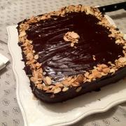 Çikolatalı acı pasta